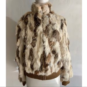 Jackets & Blazers - 🖤Rabbit Fur Bomber